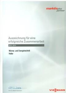 Viessmann Zertifikat